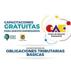 CAPACITACIÓN GRATUITA - OBLIGACIONES TRIBUTARIAS BÁSICAS