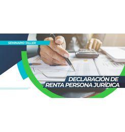 DECLARACIÓN DE RENTA PERSONA JURÍDICA