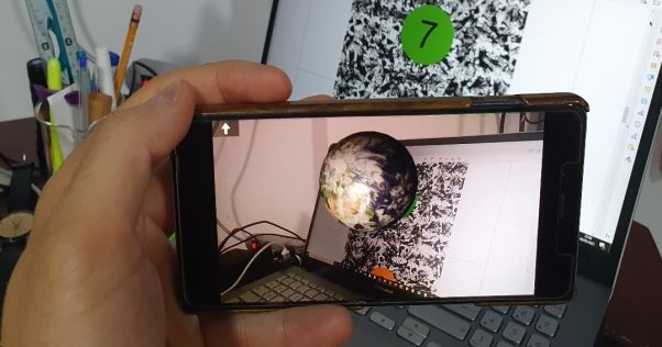 Planetario interactivo haciendo uso de la Realidad Aumentada - 5e A y 5e B