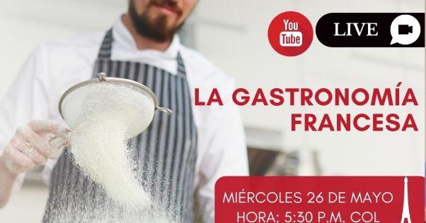"""""""La gastronomía francesa"""" con el chef francés Sylvere Belliot."""