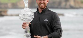 Golf: Daniel Berger, Campeon del Torneo AT&T Pebble Beach Pro-Am, PGA Tour