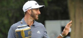 Golf: Dustin Johnson ha alcanzado el liderato del ránking mundial de golf esta semana con 9,9231 puntos