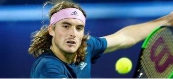 Tenis: El griego Stefanos Tsitsipas cayó  ante el suizo Roger Federer en Dubai, pero se ha convertido en el primer tenista de su paَís entre los 10 mejores jugadores del mundo.