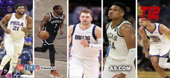 NBA  Los 10 favoritos al MVP de la NBA