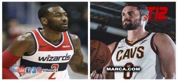 John Wall y Kevin Love podrían ser las últimas bombas en el mercado de la NBA