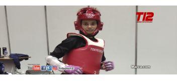 Una falta dejó a Andrea Ramírez sin medalla en taekwondo