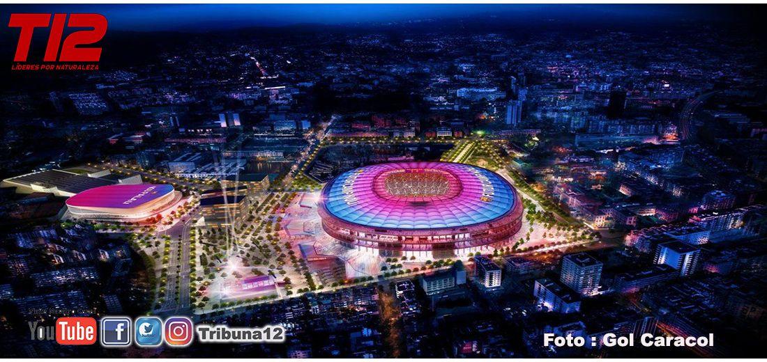 Barcelona jugaría en el Estadio de Montjuïc durante un 'corto periodo'