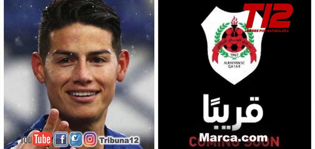 James Rodríguez será nuevo jugador de Al Rayyan