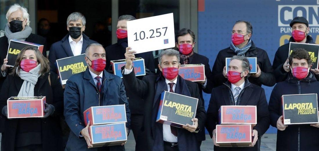 Joan Laporta a la cabeza de favoritos para ser elegido presidente del Barcelona