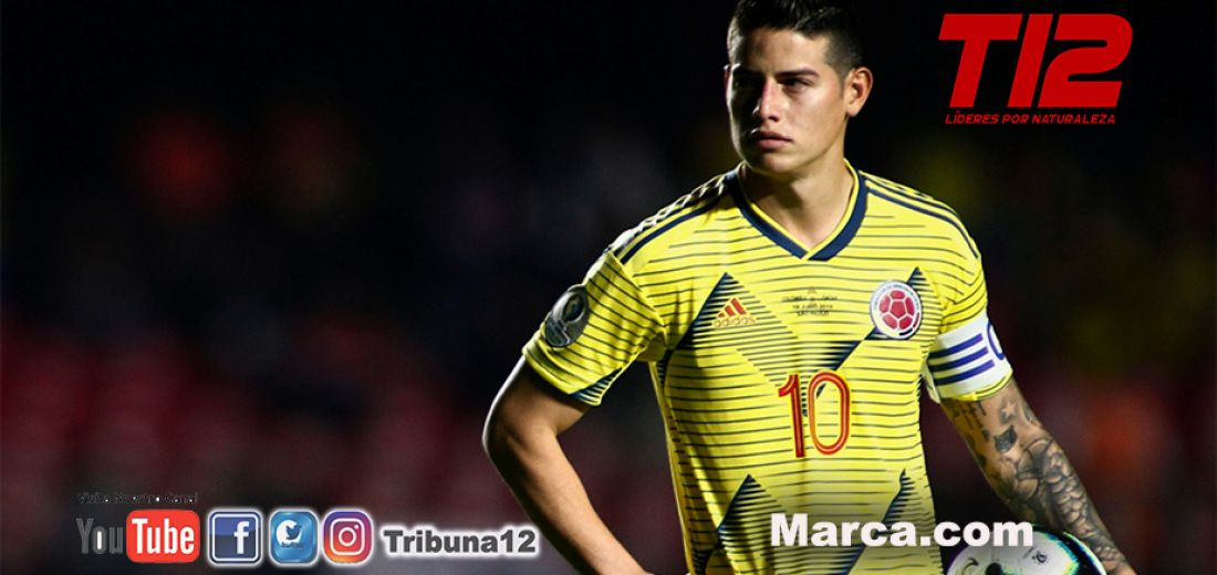 James Rodríguez estaría bloqueado para la siguiente fecha de la Eliminatoria