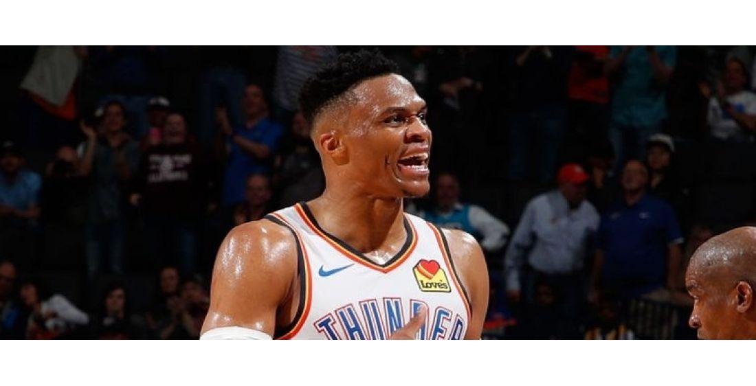 NBA: Triple-doble histórico para Russell Westbrook: 20 puntos, 20 rebotes y 21 asistencias