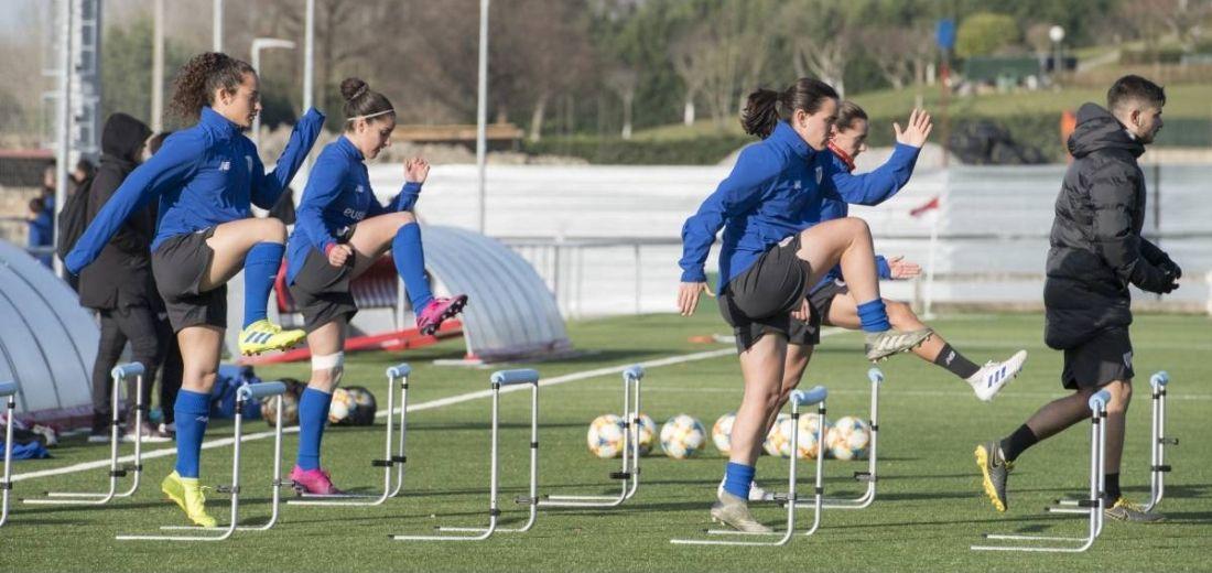 Atletico de Madrid femenino regresó a entrenamientos  pesar de suspensión de la Liga Iberdrola