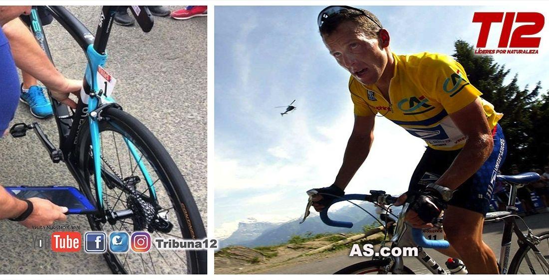 Lance Armstrong tiembla: así sería el motor que convertía su bicicleta en un cañón