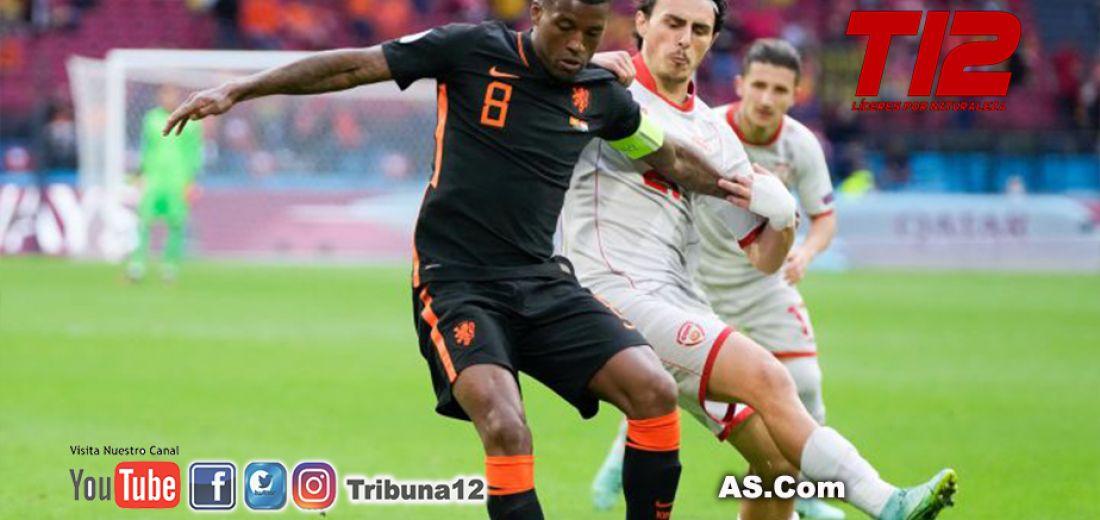 Países Bajos 0 - Macedonia del Norte 3