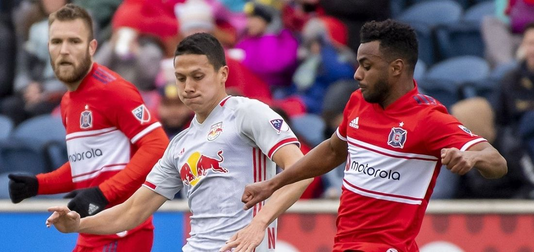 MLS: Chicago Fire venció 1 x 0 al Red Bulls New York, con un autogol de Tim Parker.