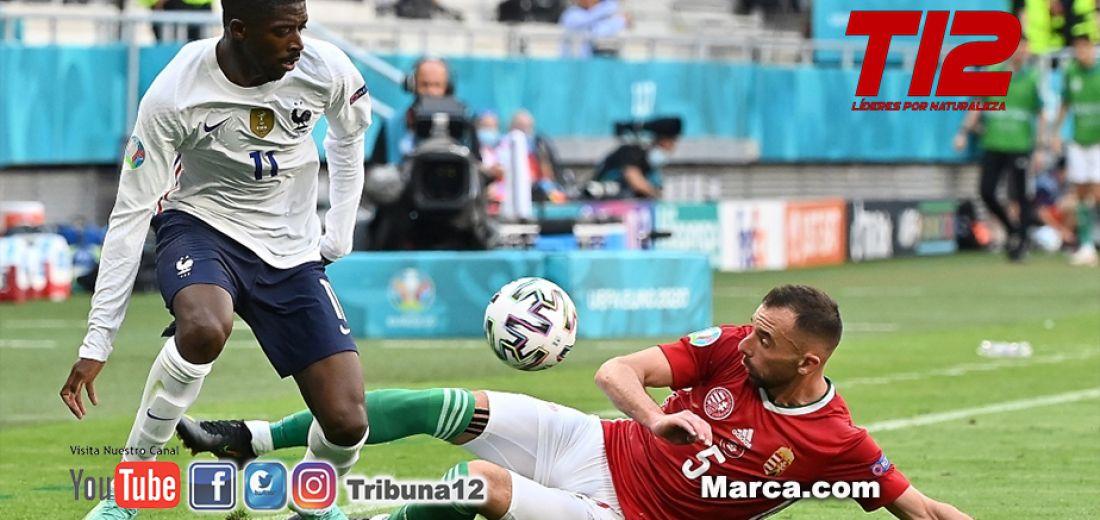 Dembélé se queda fuera de la Eurocopa