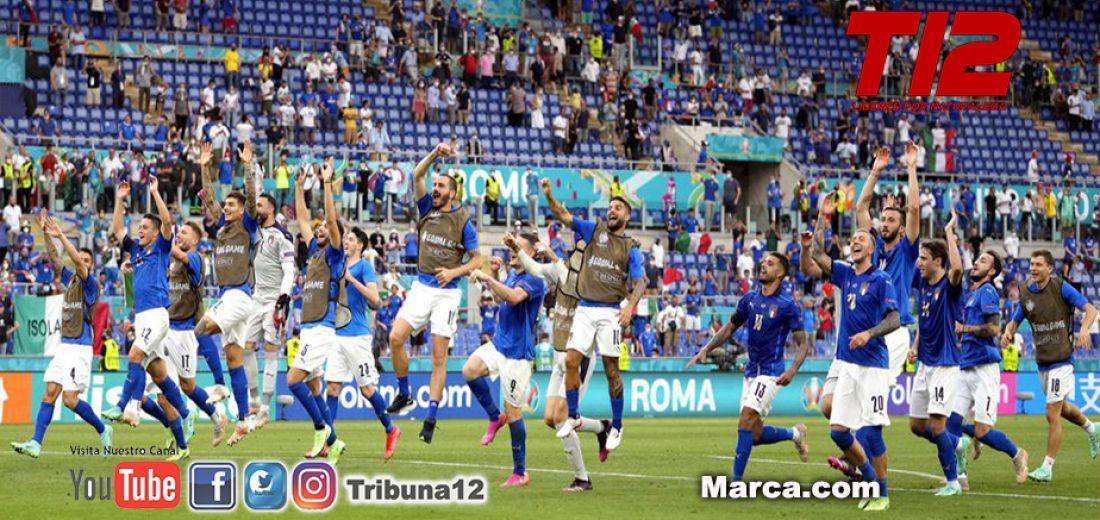 En la Eurocopa..Impoluta Italia gano 1 a 0