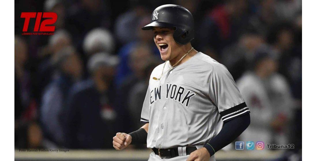 MLB: Los Yankees con cuadrangular de Gio Urshela evitó la barrida de los Rays