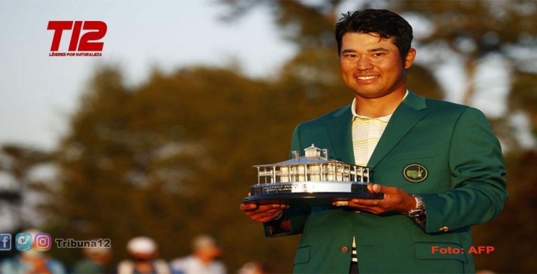 Golf:  Hideki Matsuyama venció en el Master de Augusta