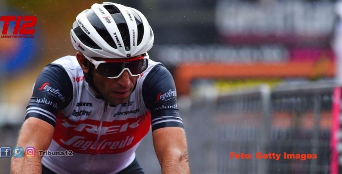 El tiburón Nibali se fractura la muñeca y el cúbito y peligra el Giro para el