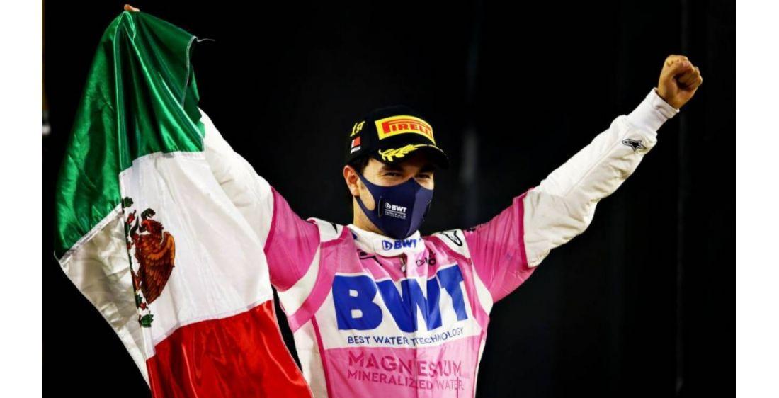 F!: Checo Perez,Primer Mexicano en 50 años en ganar una carrera en la formula 1 en Sakhir.