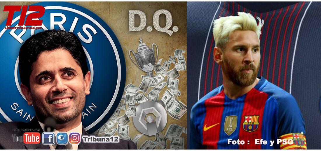 PSG busca a Leonel Messi como su figura para la proxima temporada