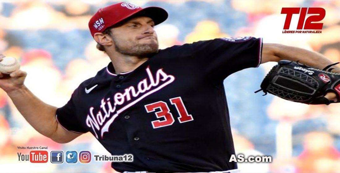 MLB  Reporte: Padres cerca de concretar un acuerdo por Max Scherzer