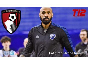 MLS: Thierry Henry, DT del Montreal Impact  dejaría su cargo para firmar con el Bournemouth de Inglaterra