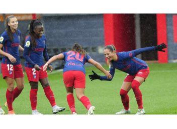 Iberdrola: Atletico de Madrid, rescató un punto en su visita al El Athletic Club Femenino empatan 3-3
