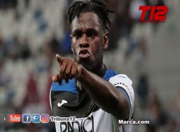 El Inter iría por Duván Zapata si Romelu Lukaku se va a Chelsea