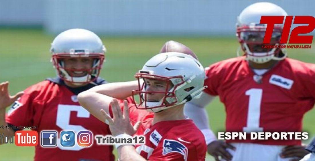 Lista la batalla por el puesto como QB titular de los Patriots entre Cam Newton y Mac Jones