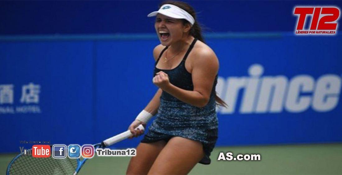 El brutal ascenso de María Camila Osorio en el ranking WTA: 50 posiciones en 5 meses