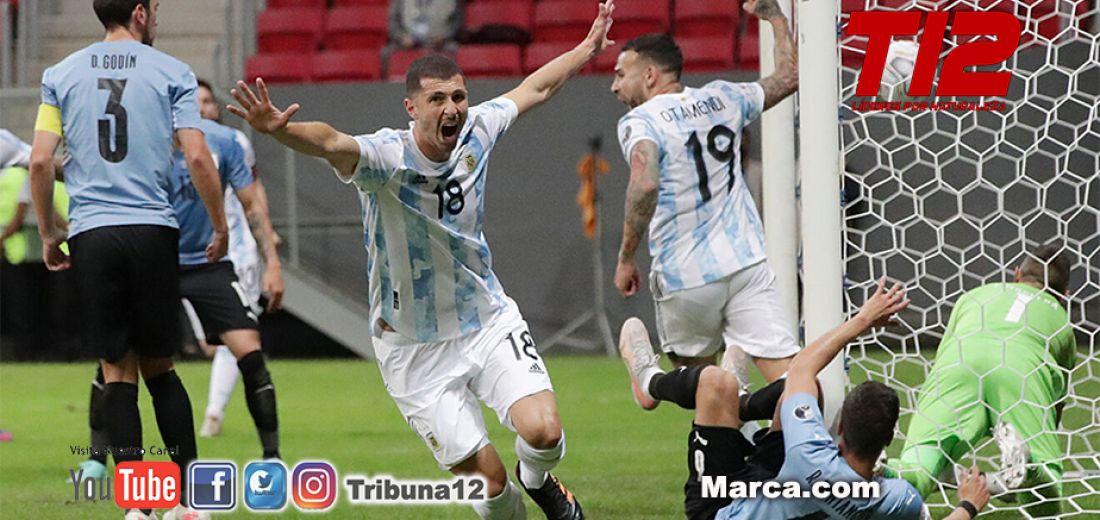 Argentina 1 Uruguay 0