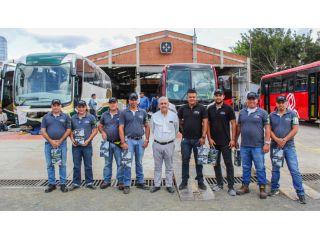 Éxito de traslado de Articulados y biarticulados hacia Bogotá
