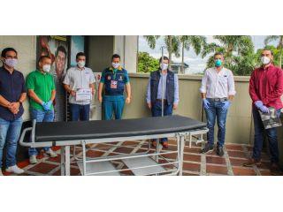 BUSSCAR, MET GROUP y EXCO COLOMBIA donan 20 camillas Hospitalarias a la Gobernación de Risaralda
