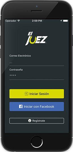 Screenshots Aplicación