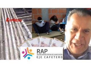 La RAP Eje Cafetero gasta este año $2.740 millones para sostener 6 funcionarios