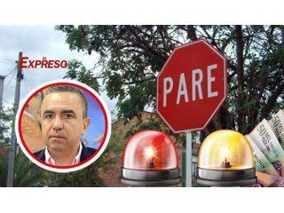 Alcalde Diego Ramos son $1.146 millones para el contrato de tránsito ojo vuelven a robar