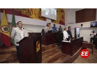 Secretario de Planeación de Pereira presentó el plan de acción en el Concejo