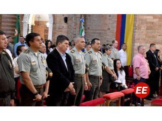 Autoridades rindieron un homenaje especial en el primer aniversario y Día Nacional del Estudiante de Policía