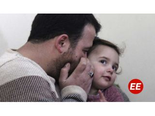 La niña siria que reía con las bombas comienza una nueva vida en Turquía