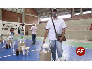 Lecheros de Santa Rosa de Cabal recibieron insumos y materiales