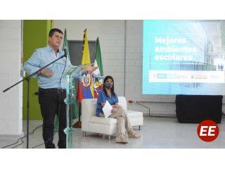 Más de $6 mil millones aportará la Gobernación para los megacolegios Labouré y Pedro José Rivera de Santa Rosa