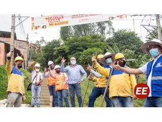 Continua la transformación de la malla vial de Pereira