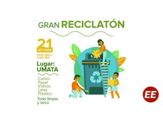 Alista tus residuos para la reciclatón de mañana jueves, en Santa Rosa de Cabal