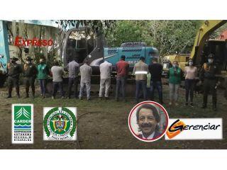 Infames: empleados de Gerenciar y Movicon capturados destruyendo el medio ambiente