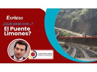 ¿Y qué pasó con el Puente Limones, Contralor Felipe Córdoba?