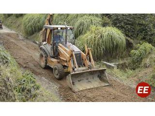 Así va el mantenimiento de vías rurales en Santa Rosa de Cabal