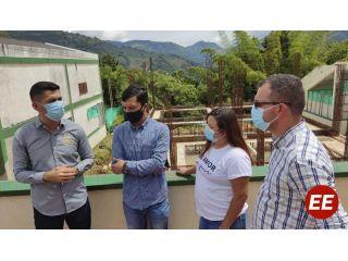 Avanzan las obras de los megacolegios de Apía, gracias a la gestión del Gobernador Victor Manuel Tamayo