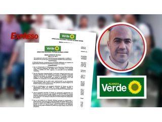 Decisión del Partido Alianza Verde y la respuesta de Jorge Mario Cardona